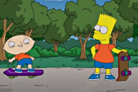 Video: Primer vistazo al crossover entre 'Los Simpson' y 'Padre de Familia'