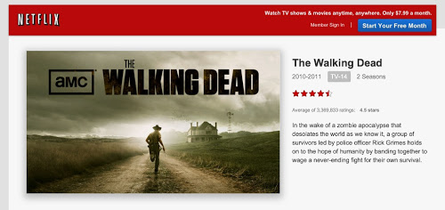 The Walking Dead llega a Netflix América Latina