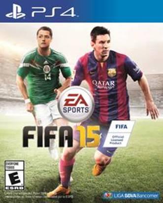 Conoce la nueva portada de FIFA 15