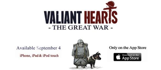 Valiant Hearts: The Great War se estrenará en septiembre