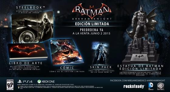 Batman: Arkham Knight se estrenará en junio de 2015