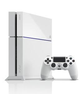 Consola PS4 blanca