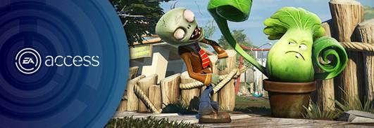 Plants vs. Zombies Garden Warfare se une a The Vault en EA Access