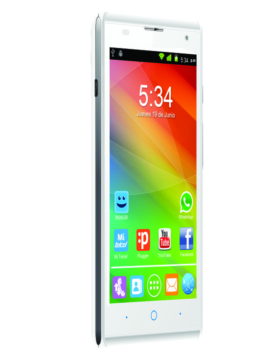 ZTE presenta el nuevo smartphone Blade G Lux