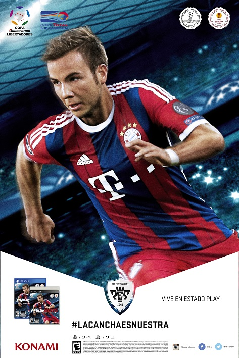 Konami anunca PES 2015 – La Cancha es nuestra