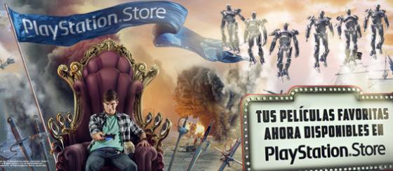Renta y compra películas desde PlayStation Store