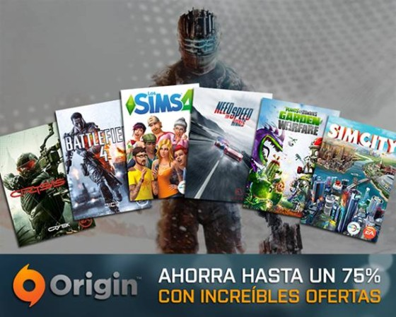 Origin presenta sus ofertas de Black Friday