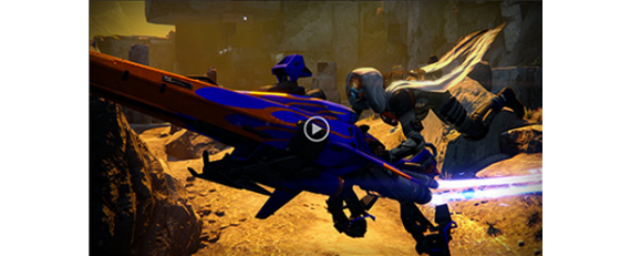 Conoce el EV-30 Tumbler Sparrow para Destiny: The Dark Below