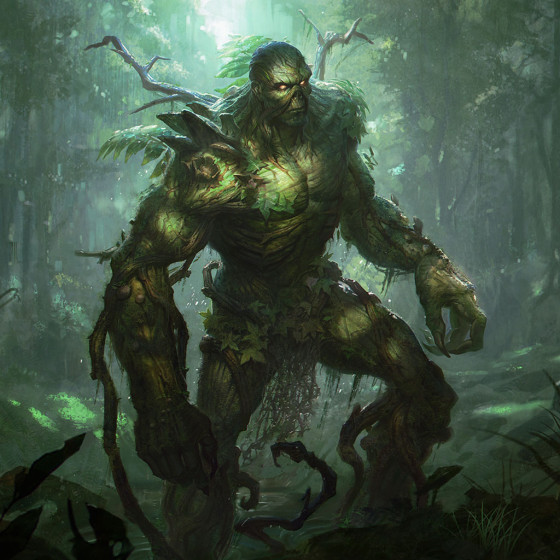 Juega como Swamp Thing en Infinite Crisis