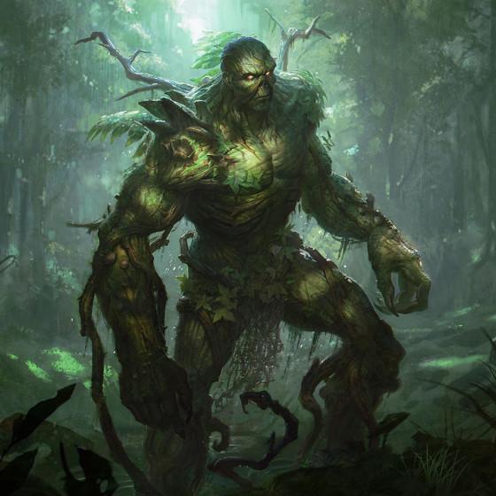 Juega como Swamp Thing en Infinite Crisis