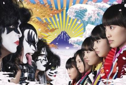 Kiss y Momorio Clover Z estrenan un avance de su colaboración