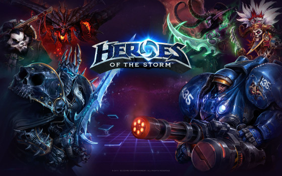 ¡Ya está disponible la Beta cerrada de Heroes of the Storm!