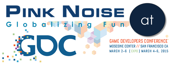 Pink Noise estará presente en GDC 2015