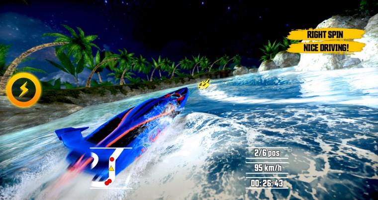 Driver Speedboat Paradise llega a dispositivos móviles
