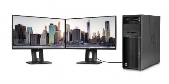 HP presenta Workstation con almacenamiento mejorado y pantallas profesionales