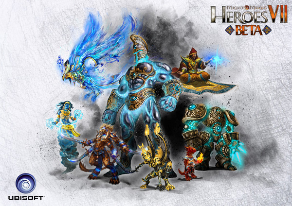 Juega la beta cerrada de Might and Magic Heroes VII