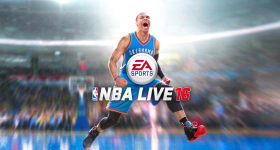 Russell Westbrook es seleccionado para la portada de NBA Live 16
