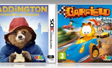 Paddington: Adventures in London y Garfield Kart llegan al Nintendo 3DS