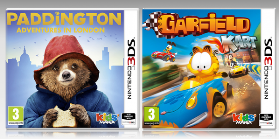 Paddington: Adventures in London y Garfield Kart llegan al Nintendo 3DS