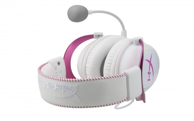 Ponle color a tu diversión con HyperX Cloud II Pink