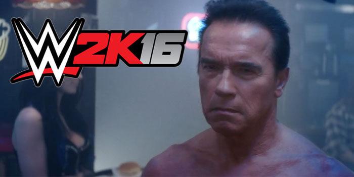 ¡Hasta la vista, baby! Juega como el Terminator en 'WWE 2K16'