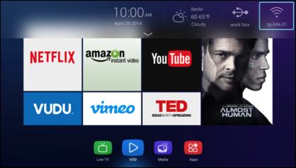 Hisense presenta nueva interfaz 100% intuitiva y elegante