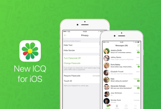 La nueva versión de la app de chat ICQ se toma muy en serio la privacidad del usuario