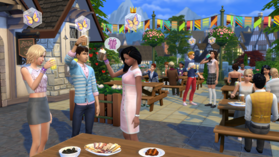 Ya disponible: The Sims 4 Get Together
