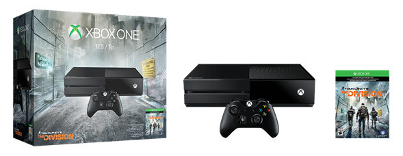 "Microsoft anuncia el bundle Xbox One de ""Tom Clancy's The Division"""