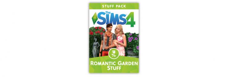 Vive el romance con Los Sims 4: Romantic Garden Stuff