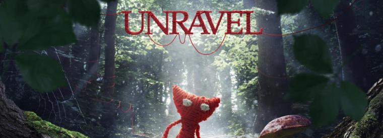 Llega una aventura desenredada, con Unravel