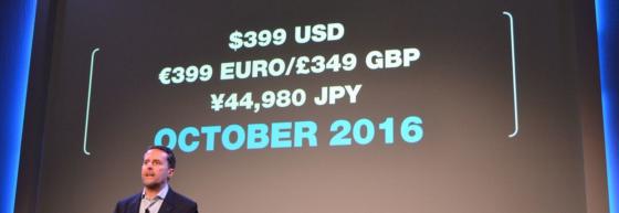 Se anuncia oficialmente la fecha de estreno y precio del PlayStation VR