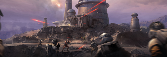 Sigue la batalla en Star Wars Battlefront: Outer Rim