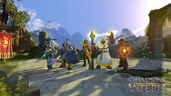 Ubisoft anuncia el lanzamiento de Champions of Anteria