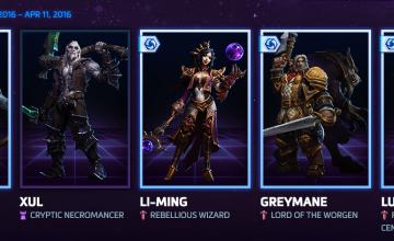 Desde hoy y por tiempo limitado, hay personajes GRATIS en Heroes of the Storm