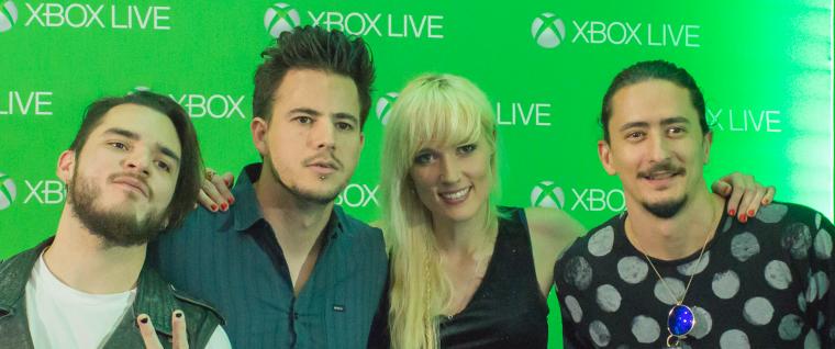 """""""Jenny and the Mexicats"""" hacen una pausa en su gira para retar a sus fans en Game with Fame de Xbox Live"""