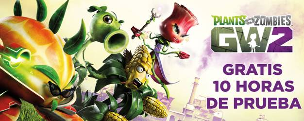 Juega gratis 'Plants vs. Zombies Garden Warfare 2'