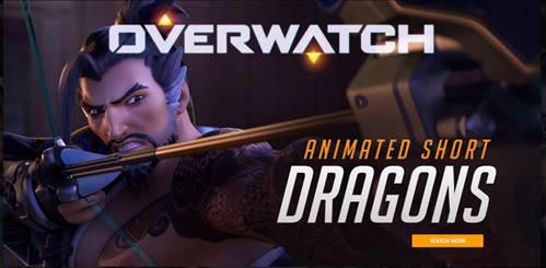No te pierdas el nuevo corto animado de Overwatch: 'DRAGONS'