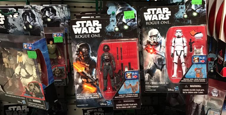 Jugueterías listas para el estreno de Rogue One
