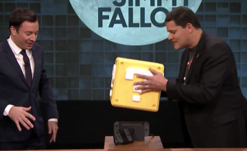 Reggie presenta Super Mario Run y Nintendo Switch en el show de Jimmy Fallon
