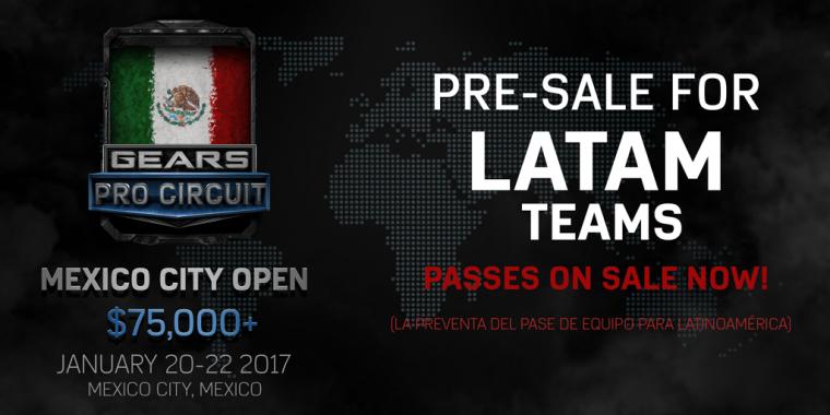 """Los boletos para """"Gears Pro Circuit: Ciudad de México"""" ya están a la venta"""