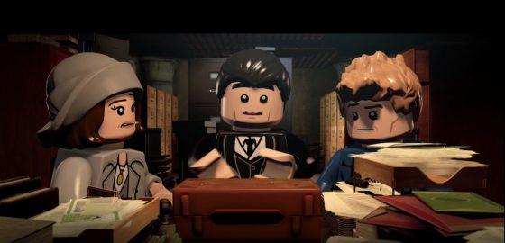 Animales Fantásticos y Dónde Encontrarlos: ¡En Lego Dimensions!
