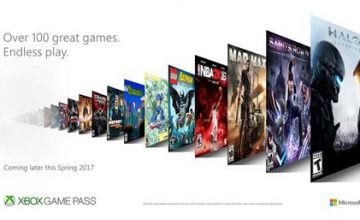 Microsoft presenta Xbox Game Pass
