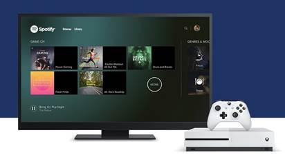 Spotify llega a Xbox One