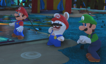 Mario + Rabbids Kingdom Battle ya disponible en Switch