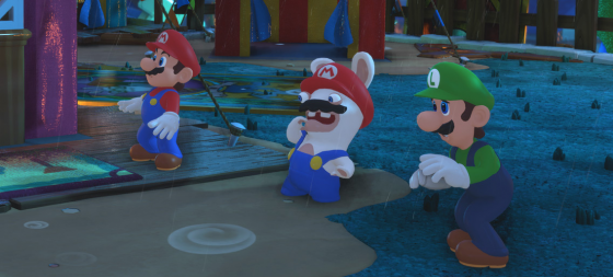 Mario + Rabbids Kingdom Battle ya disponible en Switch