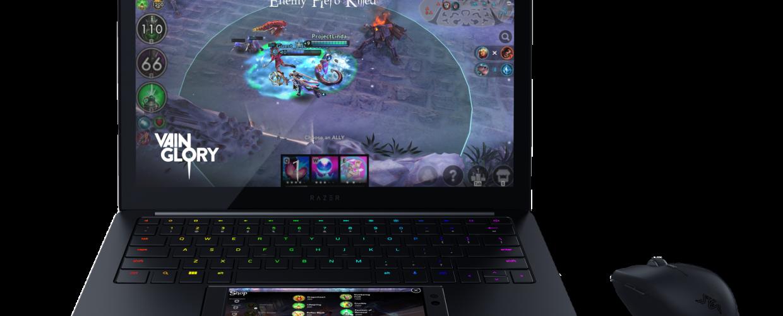 Razer combina su teléfono celular con una laptop, se llama Project Linda