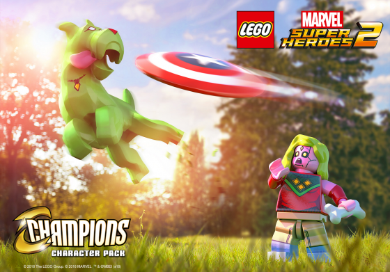 """Revelan Paquete de Personajes Descargable de """"Champions"""" para LEGO Marvel Super Heroes 2"""
