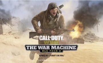 Prepárate para el DLC The War Machine en Call of Duty: WWII