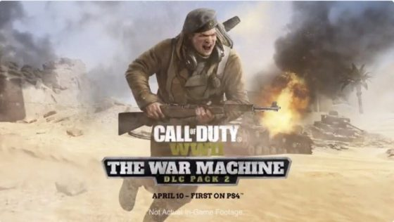 Prepárate para el DLC The War Machine en Call of Duty: WWII